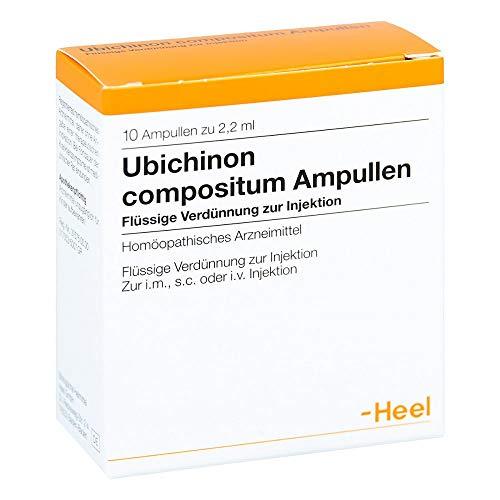 Ubichinon compositum Ampullen Heel, 10 St. Ampullen