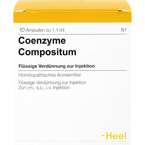 Heel Coenzyme compositum Ampullen, 10 St. Ampullen