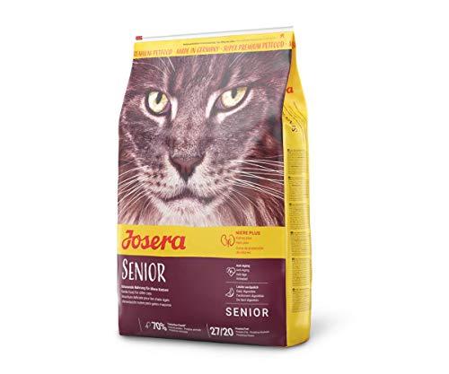 JOSERA Carismo (1 x 10 kg) | Katzenfutter für ältere Katzen oder Katzen mit chronischer Niereninsuffizienz | Super Premium Trockenfutter | 1er Pack
