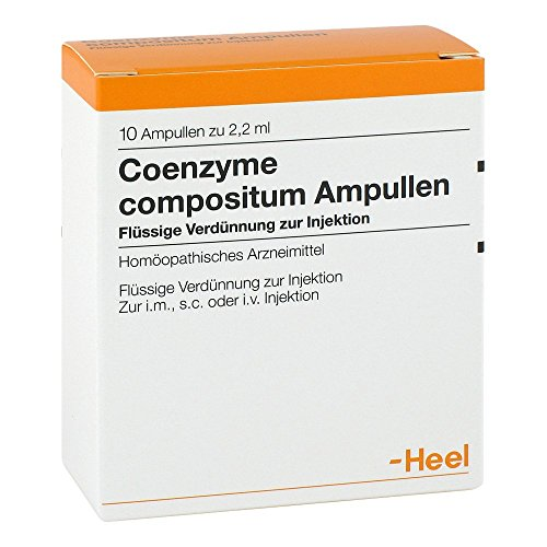 Coenzyme Compositum Heel, 10 St. Ampullen