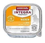 animonda Integra Protect Nieren Katzen, Nassfutter bei Niereninsuffizienz, mit Ente, 16 x 100 g